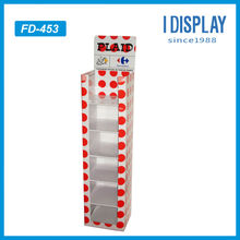 promotional POS cardboard balloon display stand