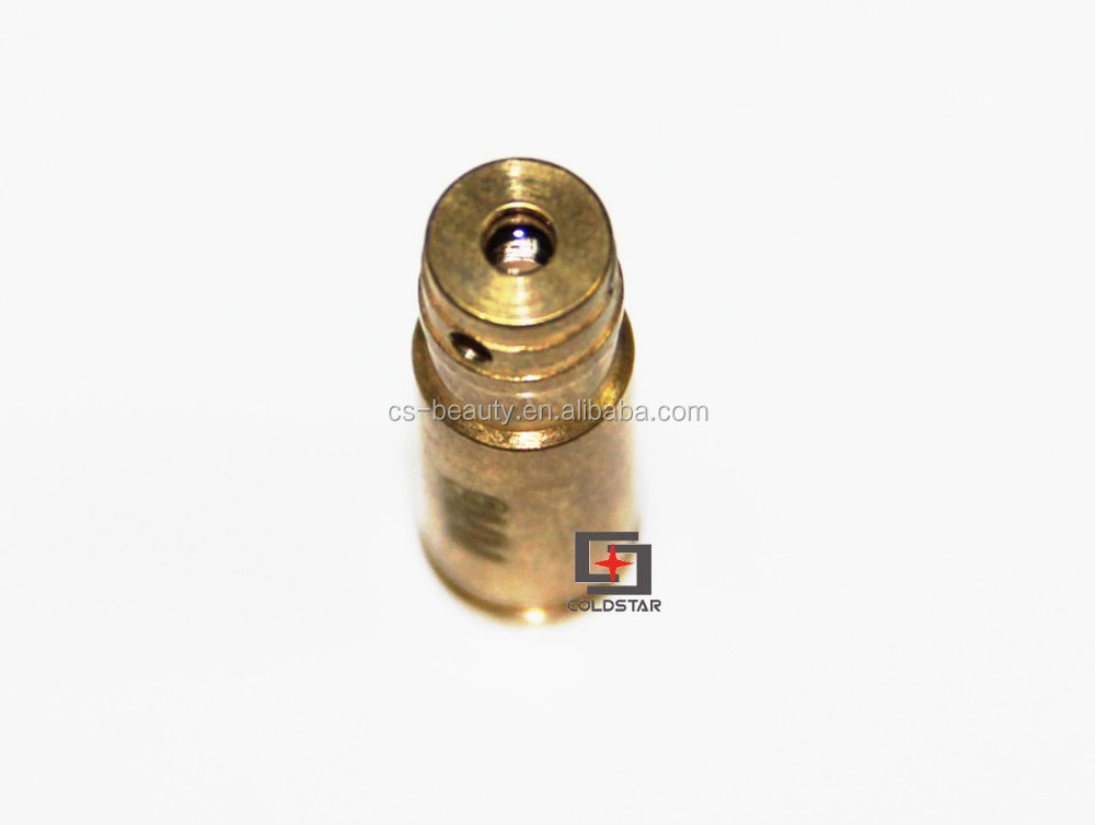 Hunting 9MM Red Dot Laser Sight Laser CAL:9MM Bore Sighter Cartridge Brass Boresighter Rifle Scope Bullet Shaped