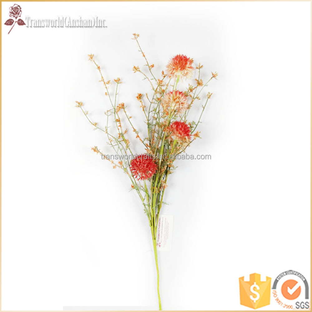 24'' high quality simulation artificial flower cheap, artificial flowers long stem, art flower, florist supplies