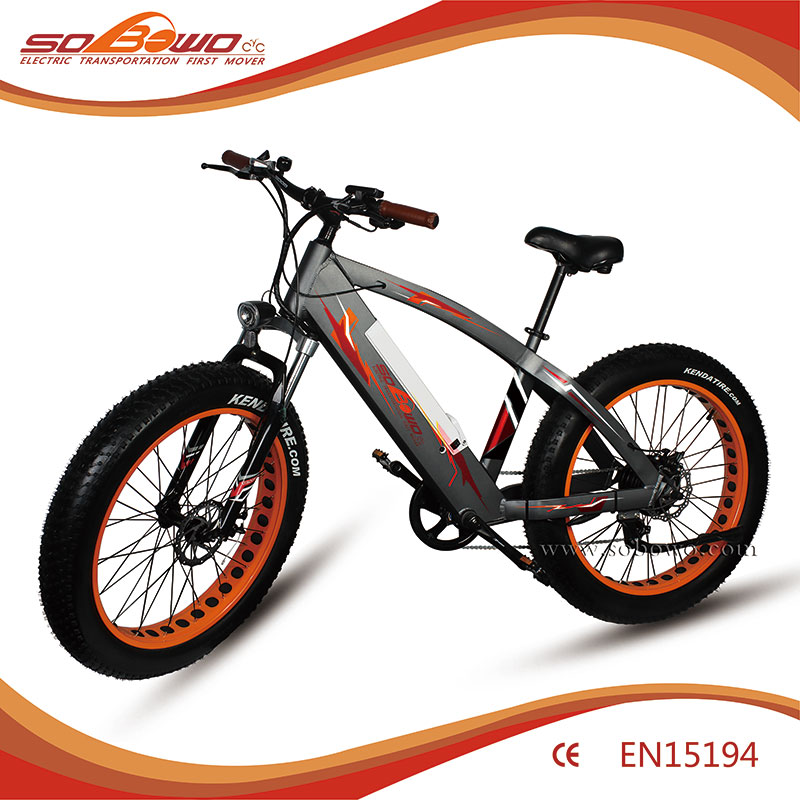 Durable Fat Tire Electric bike &2017 heavy duty electric bicycle