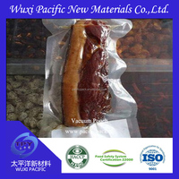 Good quality multi layers co-extruded high barrier food grade 3 side sealed vacuum packing bag