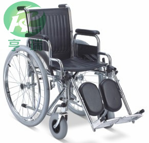 China high quality chromed steel manual wheelchair wholesaler