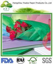 wax tissue paper for floral wrapping