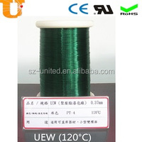 UEW/U JIS 3202 0.09mm enameled copper wire for Telephone