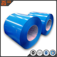 Most popular colorful ribbed ppgi for roof materials packing material ppgi prepainted galvanized coil