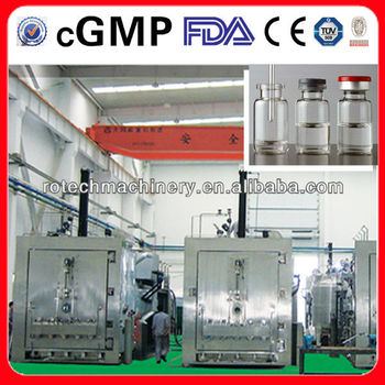 large vacuum Freeze Dryer for pharmaceutical (FDA&cGMP Approved)