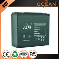 12V 20ah factory wholesale price custom lowest price lead acid battery