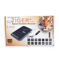 Full HD 1080P satellite receiver Tiger star I100 Digital satellite receiver