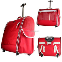 China goods latest design collapsible dog trolley bag deluxe carrier tote pet bag
