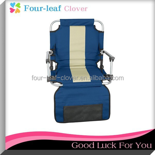 Folding Stadium Seat Chair With Arms For Club,Portable Foldable Stadium Chair Seats