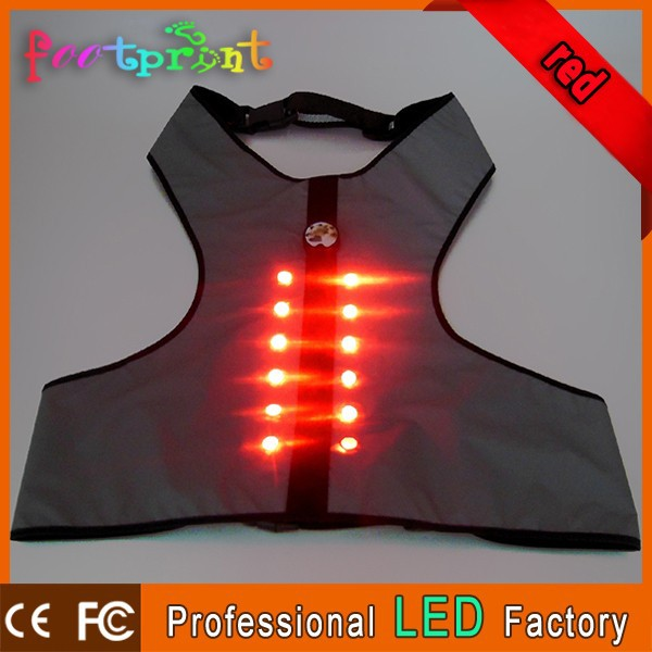 WHolesale Soft LED flashing protective dog clothing