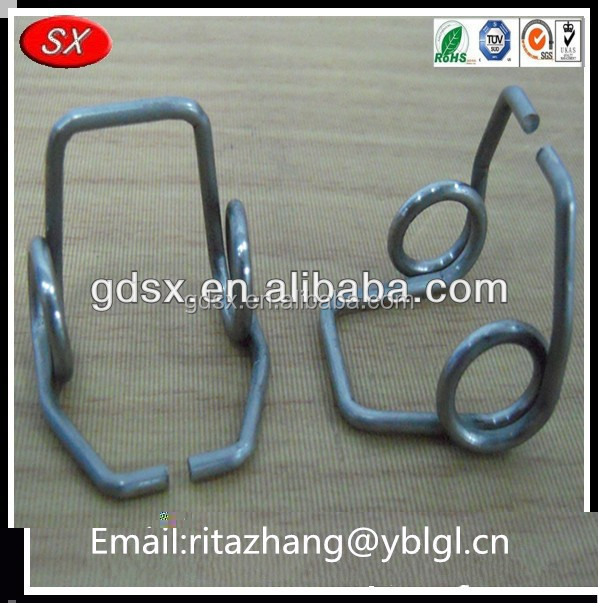 2014 top selling OEM fabrication high quality precision customized high carbon steel torsion spring wire form for crafts