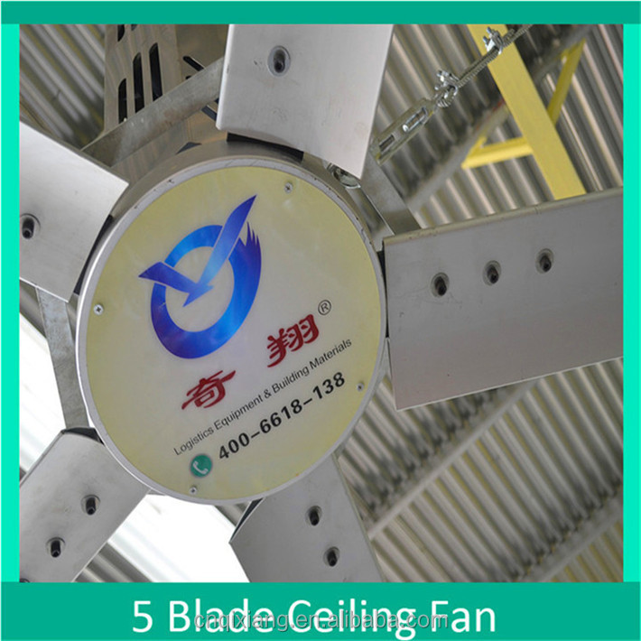 24ft HVLS Low Watt Ceiling Fan