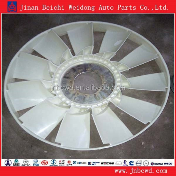 Heavy truck used fan blade, heavy truck Plastic fan blade