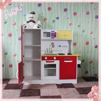 Wooden kitchen toy set/cooking toys/pretend play toys preschool kitchen toys