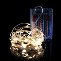 2.5m New Milk Light Snow Flower LED lantern string, holiday lights Christmas lights decoration