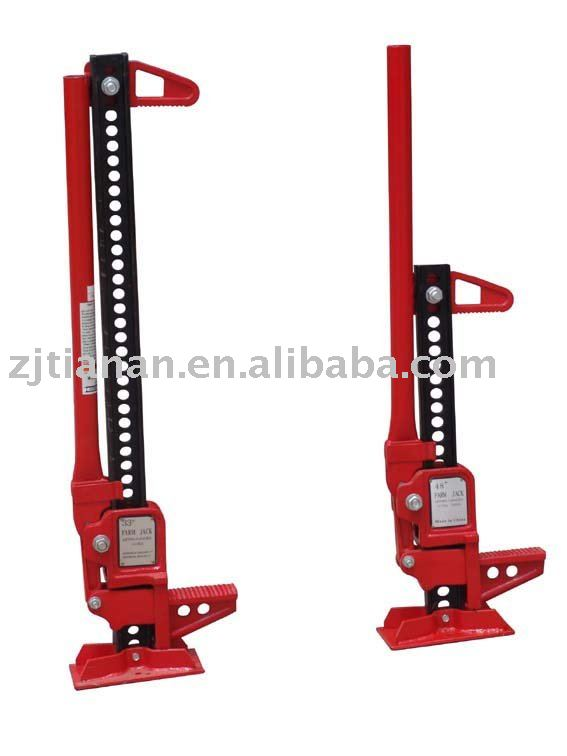 high lift transmission jack with 7000lbs capacity