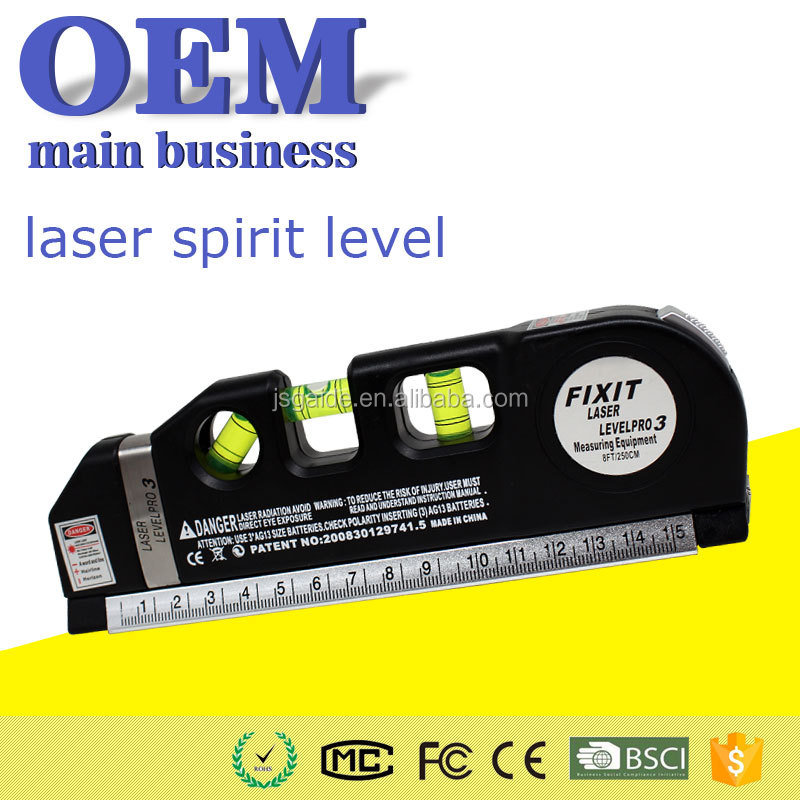 OEM cheap factory price new red beam self-leveling laser level pro 3