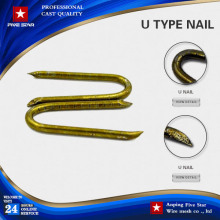 Alibaba cheap insulate u-shaped nails fence staple from china supplies