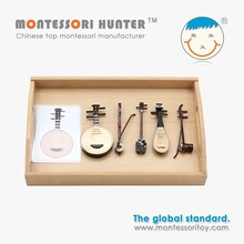 Montessori Instruments set for School Educational Material