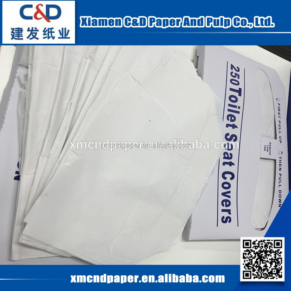 Wholesale Custom Disposable Paper Portable Disposable Toilet Paper Seat Cover