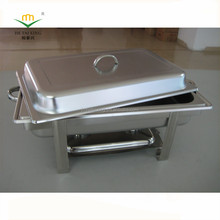 Economics Chafing Dish 9L Square Buffet Chafing JMB833 Chafer For Hotel