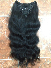 wholesale Clip in hair good quality vietnamese hair extension for big sale