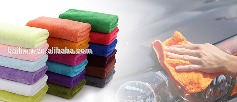 Promotion High quality Cold Microfiber Car Cleaning Soft Towels