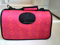 Beautiful pet carrier dog bag