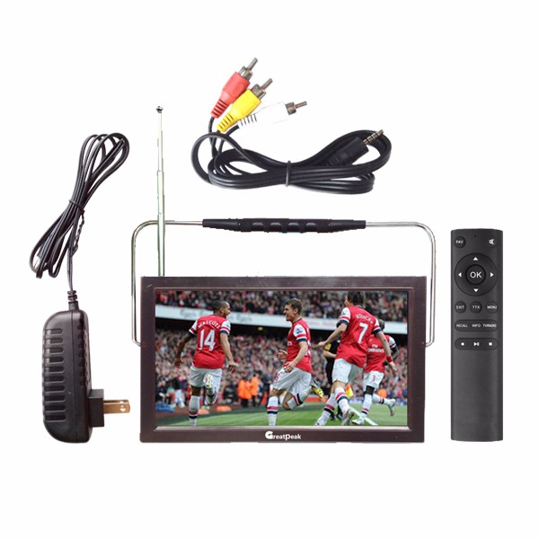 Cheap price mini portable dvb t2 tv from Shenzhen with out door use antenna