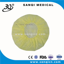 medical colorful nonwoven Disposable surgical round mob cap