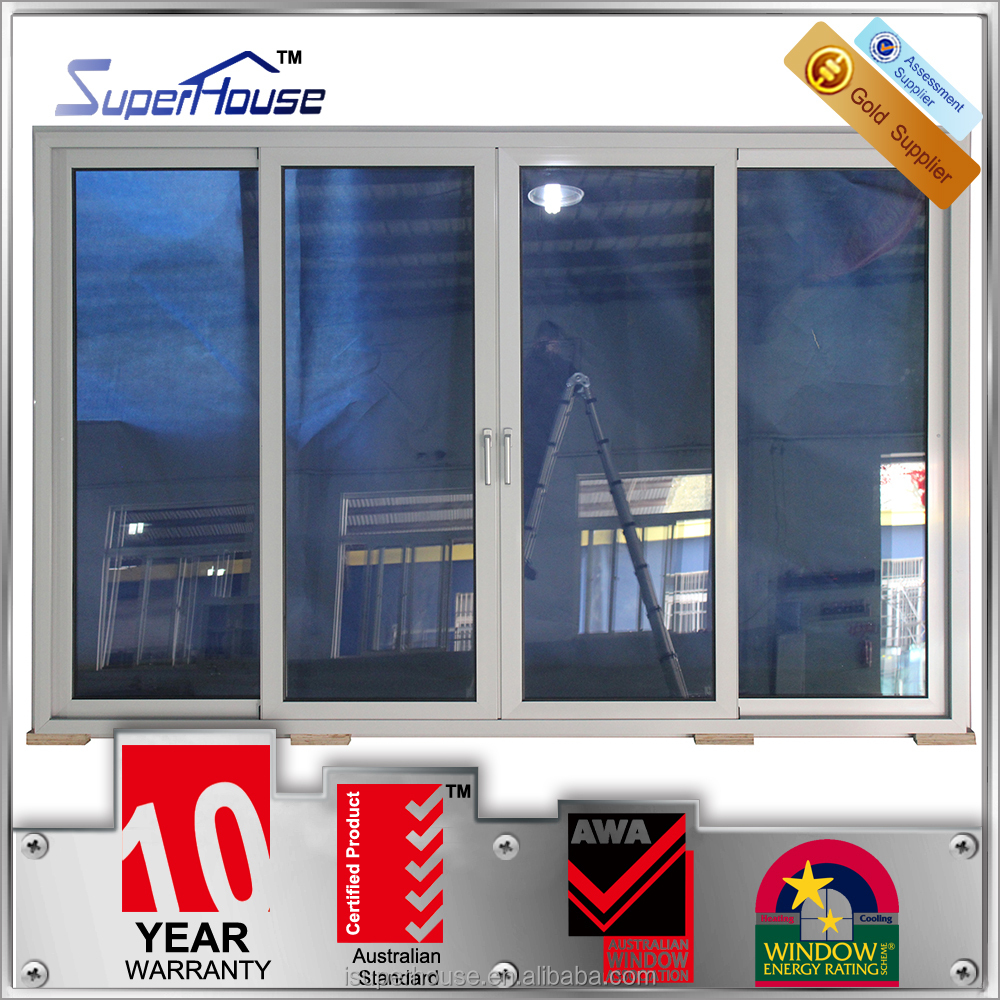 Australia standard double glass insulated living room sliding door