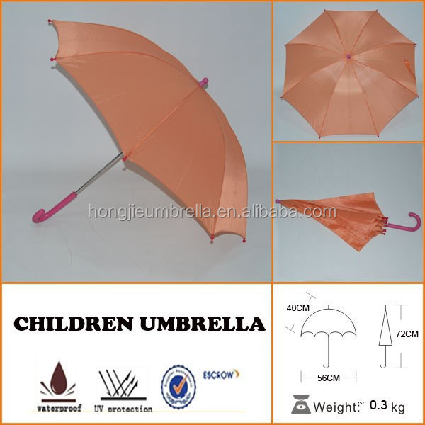 Honsen students straight shank umbrella top level cheap child umbrella