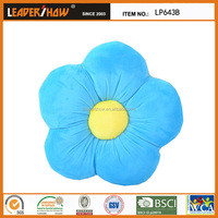 fashion plush flower shape baby bath pillow,beautiful textile chusion for home decor
