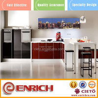 adjustable components attractive teak wood kitchen cabinet