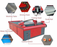 DRK1325 cheap cnc sheet metal steel iron plate plasma plazma cutting machine price