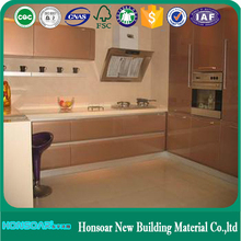 Wood kitchen cabinet plastic cover