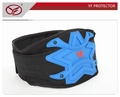 Lightweight and slim design motorcycle motorsports kidney belt blue ski protector back wear integrate into racing pants