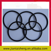 Customized Sharp anti-corrosion round flat rubber gasket/seal