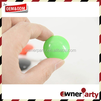 30mm plastic coated whiteboard magnet button