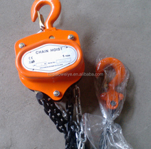 Building Material Lift Winch tbm Hand Chain Hoist