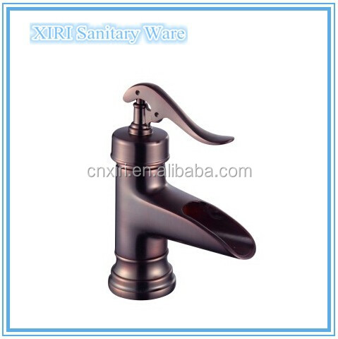 2015 orb waterfall faucets for bathroom sinks XR-GZ-8128R