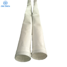 Superfine fiber polyester fabric filter bag fot power plant