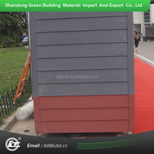 wood grain fiber cement siding panel, exterior wall cladding