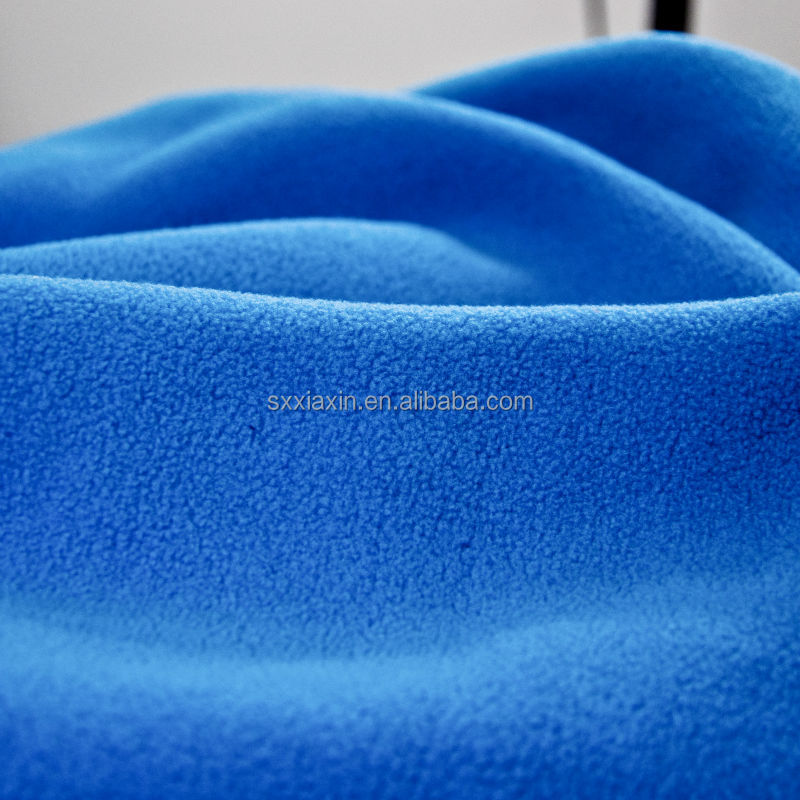 DTY MICRO Polar Fleece TWO SIDE BRUSH ONE SIDE ANTIPILLING Fabric customize polyester knitted BRUSH fabric made in China