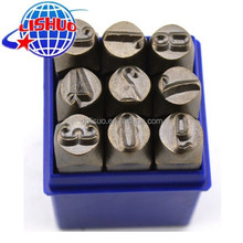 China manufacturer steel stamping number punches for sale