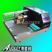 Plateless hot foil embossing business cards printing machine,digital hot foil printer,gold foil stamping ADL-3050C