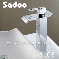 Single Handle High Waterfall One Hole Basin Faucet
