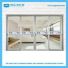 2015 low price aluminum frame interior french doors sliding