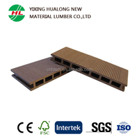 Outdoor Wood Plastic Composite Decking for Best Boat Decking Material